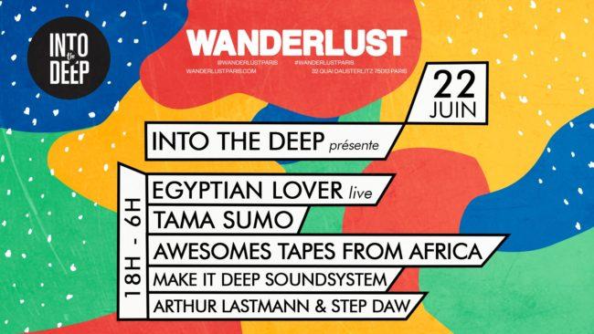 Into The Deep présente Egyptian Lover, Tama Sumo, ATFA